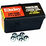 Daisy Outdoor Products 988183-446 Steel Slingshot Ammo-Trapped Blister, Black, 3/8-Inch