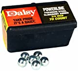 Daisy Outdoor Products 988183-446 Steel Slingshot Ammo - Trapped Blister (Black, 3/8 Inch)