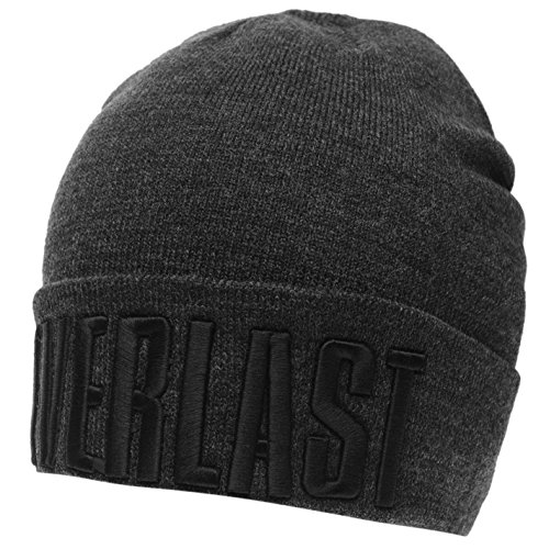 Everlast Unisex Cuff Benaie Hat Grey/Black (Everlast Cap)