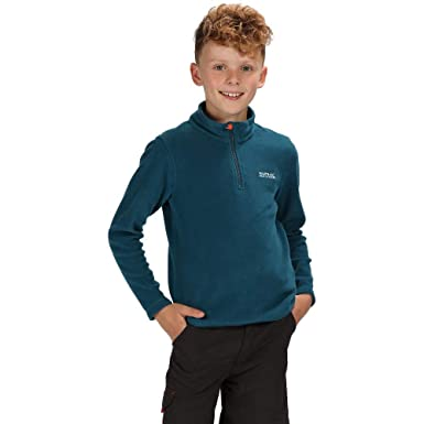 Regatta Childrens Professional Kids Brigade Quick Drying Half Zip Fleece