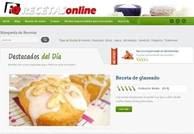 Amazon.com: Recetas de cocina RECETAS online: Roberto ...