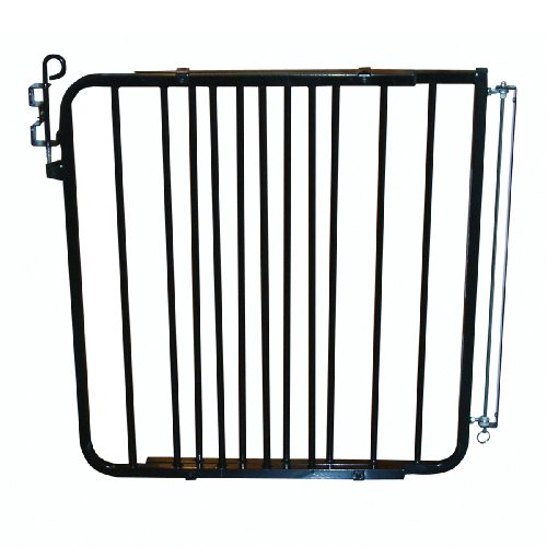 - Cardinal Pet Gates Auto-Lock Gate, BLACK