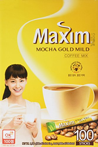 Maxim Mocha Gold Mild Coffee Mix - - Gold Brown N