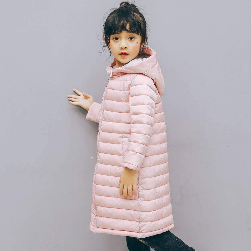 Pollyhb New Kids Winter Thick Warm Coat Baby Boys Girls Jacket Hoodie Outerwear