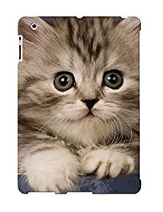 Defender Case With Nice Appearance (animal Cat) For Ipad 2/3/4 / Gift For New Year's Day