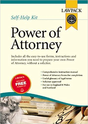 Power Of Attorney Kit Law Pack Amazon 9781904053200 Books
