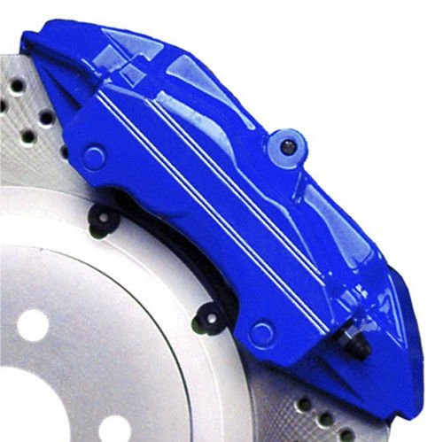 G2 High Heat Temperature Brake Caliper Paint Kit system Set Custom Mustang Color Windveil Blue Made in the USA