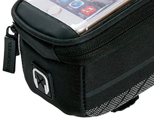 allnice Bike Bicycle Cycling Frame Pannier Bag Front Top Tube Bag Handlebar Bag Touchscreen Cell Phone Case with Headphone Jack for Iphone 6s plus/Iphone 6s/Iphone 6 plus/Iphone 6 etc.