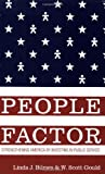 img - for The People Factor: Strengthening America by Investing in Public Service by Linda J. Bilmes (2009-03-10) book / textbook / text book