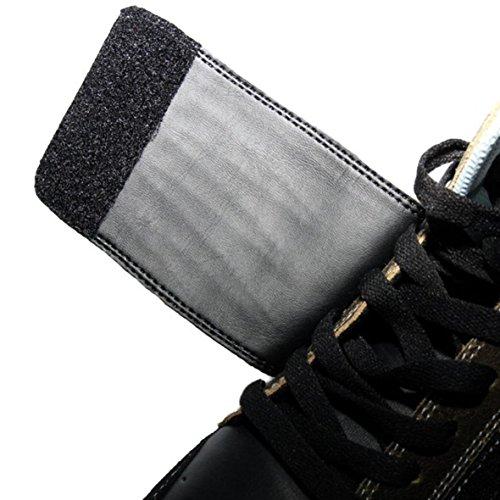 Etnies Skateboard Schuhe Etnies Plus Mid-Velcro Schwarz/Braun
