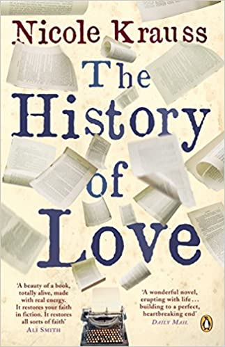 Image result for The History of Love' by Nicole Krauss