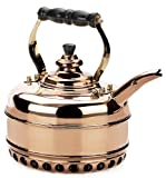 Simplex Heritage 2 Quart Copper Tea Kettle for Gas Stovetops (SIM-HG1)