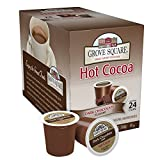 Grove Square Hot Cocoa, Dark Chocolate, 24 Single Serve Cups