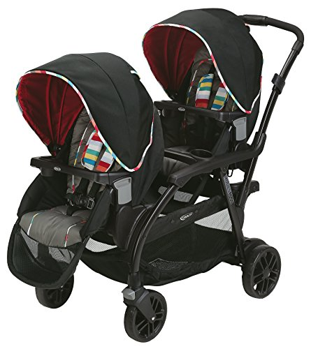 Double Stroller Swivel Front Wheel - 8