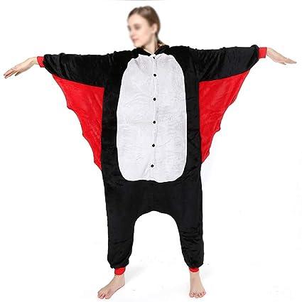 Love Home Unisex De Adultos De Dibujos Animados Animal Bat Pijamas Ropa De Dormir con Capucha