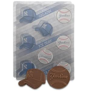 MLB New York Yankees Candy Mold (Pack of 2)