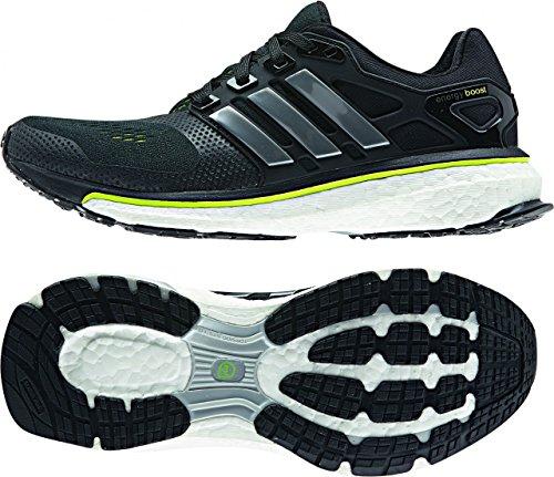 adidas Energy Boost ESM J - Zapatillas para niño Negro / Lima