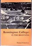 Bennington College, Thomas P. Brockway, 0914378775