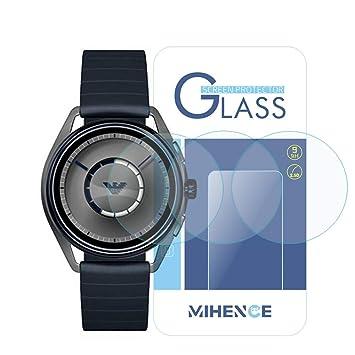 6934b8dd9e (3枚) [エンポリオ アルマーニ] Emporio Armani Smartwatch 保護フィルム,MIHENCE 9H