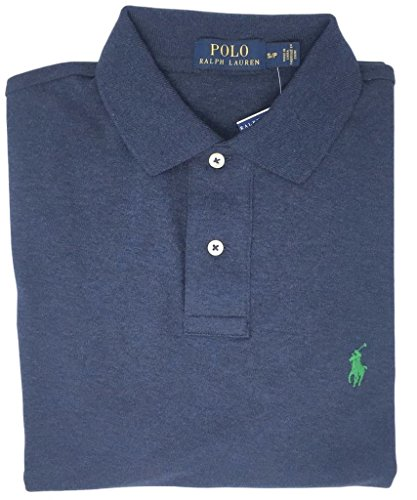 Polo Ralph Lauren Men's Medium Fit Interlock Polo Shirt (XX-Large, Midnight ()