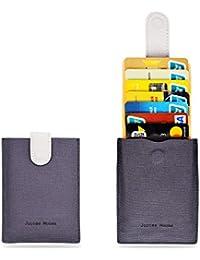 RFID Minimalist Slim Wallets - Credit Card Holder Front...