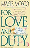 For Love and Duty, Maisie Mosco, 0061003956