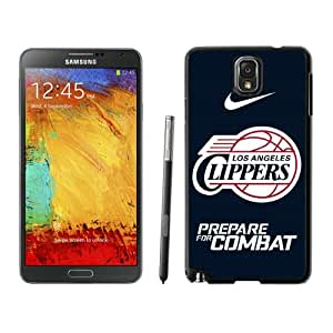 Fashionable And Nice Designed Case For Samsung Galaxy Note 3 N900A N900V N900P N900T With Los Angles Clippers Black Phone Case