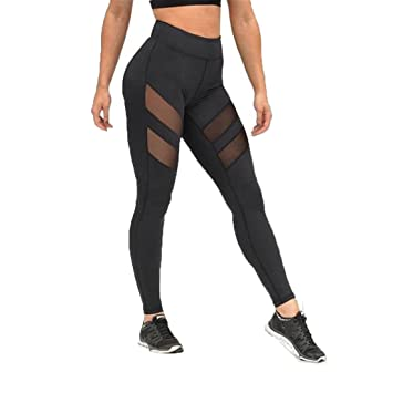 Internet leggings sexy para mujer con cintura alta con ...