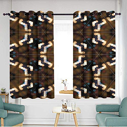 (home1love Waterproof Window Curtains Great for Living Rooms & Bedrooms W 72