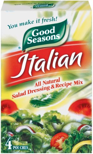 Price comparison product image Good Seasons Salad Dressing & Recipe Mix,  Italian All-Natural,  0.7 Ounce,  4 Count