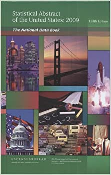 Statistical Abstract of the United States 2009 (Hardcover ...