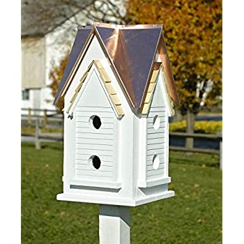 Amazon Com Heartwood Victorian Mansion Bird House W