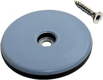 8 Teflongleiter zum schrauben Ø 50 mm Rund PTFE-Gleiter Untersetzer Möbel