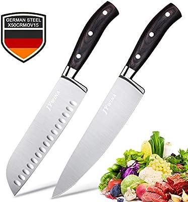 Amazon.com: Wilgord - Juego de cuchillos: Kitchen & Dining