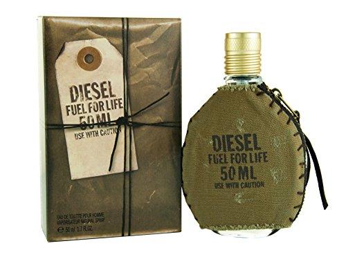 Diesel Fuel for Life Pour Homme Men Eau-de-toilette Spray by Diesel, 1.7 Ounce ()