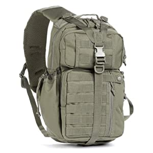 Red Rock Outdoor Gear Rambler Sling Pack, Olive Drab