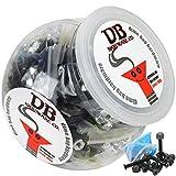 BULK Dime Bag Skateboard Hardware 1.5'' Phillips Black 50 Sets Shop Display Case