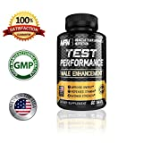 Best Testosterone booster and Male Enhancement formula for men by Muscle Performance Nutrition – Increases Testosterone Stamina, Muscle Growth, energy & Maximize Your Libido With TEST Performance!