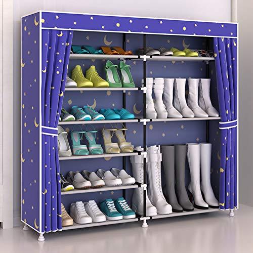 Botas Almacenamiento Oxford Multi A Ahorro Gabinete Hogar layer Prueba Organizador De Polvo b Paño Espesado Zapato Zapatillas Interfaz Dormitorio Xue Zapatero Espacio Tacones Para 57tq11