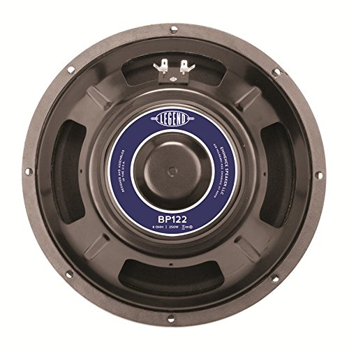 Eminence Legend BP122 12' Bass Guitar Speaker, 250 Watts at 8 Ohms