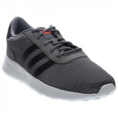adidas NEO Men's Lite Racer Lifestyle Runner Sneaker, Grey/Black ...