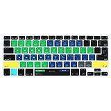 Fashion diseño de acceso directo Keyboard Cover For MacBook Air 13Y MacBook Pro 131517(US/ISO Teclado) Europea y iMac Teclado inalámbrico, Old 13 inch-Traktor Pro 2 /Kontrol S4