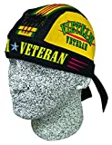 Vietnam Vet Veteran Doo Rag Headwrap Skull Cap Military Durag Sweatband