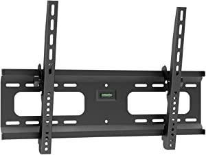 Monoprice Stable Series Tilt TV Wall Mount Bracket - for TVs 37in to 70in Max Weight 165lbs VESA Patterns Up to 600x400 UL Certified, 110483