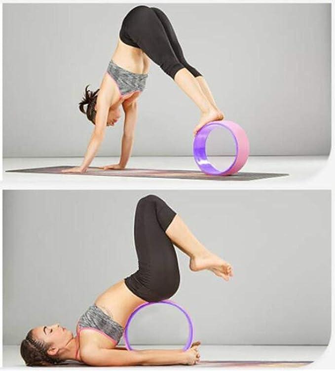 Rueda de yoga Premium, Rodillo Trasero De Yoga Dharma ...