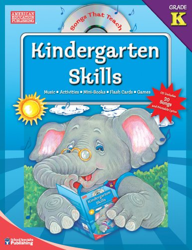 Songs That Teach Kindergarten Skills ebook