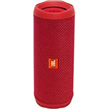 JBL Flip 4 Waterproof Portable Bluetooth Speaker (Red)