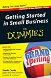 Getting Started in Small Business for Dummies, Veechi Curtis, 1742169627