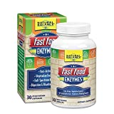 Natural Balance Fast Food Enzymes, 30 Cap