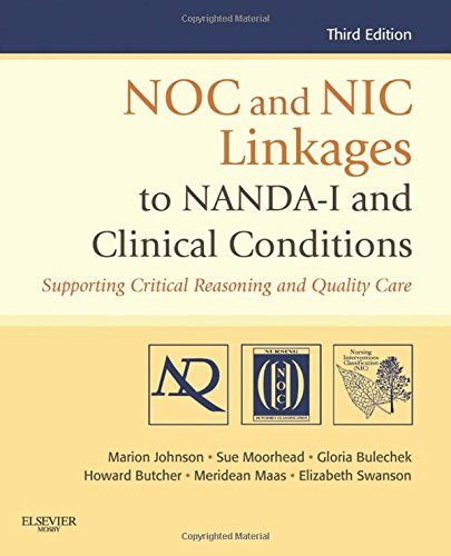 NOC and NIC Linkages to NANDA-I and Clinical Conditions: Supporting Critical Reasoning and Quality Care, 3e (NANDA, NOC, and NIC Linkages) by imusti